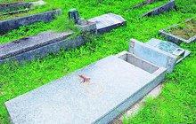 Vandalové zničili 17 hrobů!