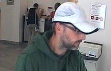 Policie hledá recidivistu: Přepadl další banku!