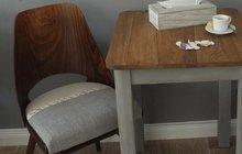 Oprašte staré poctivé kousky podle designérky a stylistky Martiny Krumphanslové: Stylové židle (nejen) do kavárny!
