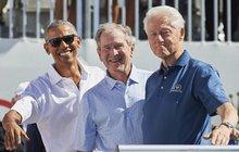 Tři kámoši z Bílého domu: Proč se sešli?