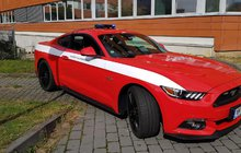 Mustang pro hasiče!