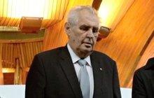 Premiér Ukrajiny: Zeman je nemocný!