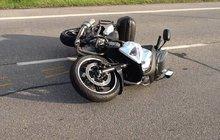 Motorkář přišel o nohu...