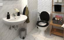 Jak si proměnit koupelnu bez stavebních úprav? Poradí designérka a stylistka Martina Krumphanslová.