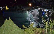 Boural a skočil pod BMW