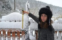 Na Česko se žene psí počasí: Sníh, mráz a silný vítr!