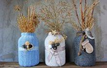 Vytvořte si z obyčejné zavařovačky originální zimní vázu podle nápadu z ateliéru Chvadlene Madlene! I.