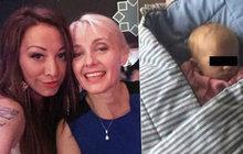 Babička známé pařmenky je na svou dceru a obě její dítka samozřejmě hrdá, neodpustila si však menší rýpnutí.
