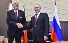 Zeman v Soči řešil jogurty a pivo: Za Putinem v nových botkách!