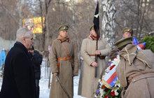 Zeman v Rusku: Uctil padlé legionáře!