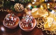 Vánoční pečení: Arašídové košíčky