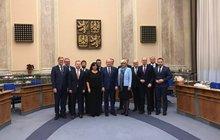 Rozlučka Sobotkových ministrů: Poslední fotečka a sbohem