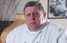 Vyhlášený kuchař Sapík ve špitále: Zlomila ho smrt, která nepřebolí...