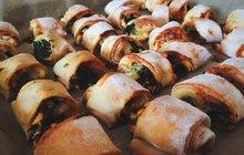 Tip na sváteční občerstvení: Špenátová roláda!