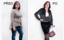 Libuše (45) z Jablonného v Podještědí: Už vím, že si můžu dovolit sukni!