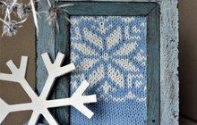 Vytvořte si originální zimní dekoraci podle nápadu z ateliéru Chvadlene Madlene!