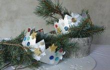 Tvoříme pro děti společně s designérkou Martinou Krumphanslovou: Tříkrálová koruna...