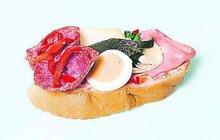 Fenomén český obložený chlebíček začal před 100 lety U Paukerta!