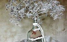 <strong>Vjednoduchosti je krása! Přinášíme vám tip na jednoduchou zimní dekoraci, která báječně vyplní prázdné místo po vánoční výzdobě. Může zdobit váš stůl nebo komodu vobýváku třeba až do jara. A stačí opravdu jen málo! Na zimní procházce najdete ten největší bodlák, co uvidíte! Vytvořte spolu sdesignérkou Martinou Krumphanslovou originální růžici.</strong>