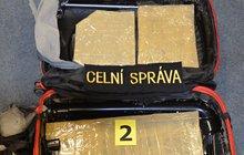 Muž (21) z Ria do Prahy přivezl 3 kg kokainu!