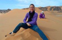 Archeoložka Jitka Soukopová (41) tráví měsíce v saharské poušti!