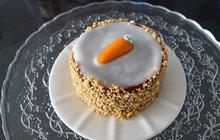 Pečení: Mrkvový dort s krémem