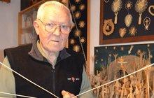 František Zuska (85): Umí vytvořit krásný slámový svět!