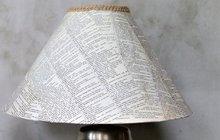 Inspirace z ateliéru Chvadlene Madlene: STÍNIDLO NA LAMPU