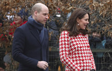 Vévodkyně Kate vzdala hold zesnulé Dianě