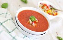 Recepty na polévky: Rajská polévka s vaječnými nočky
