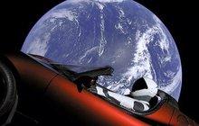 Superúspěch Elona Muska: Poslal do vesmíru kabriolet