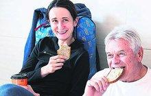 Sáblíková trénuje oslavy: Chleba místo medaile