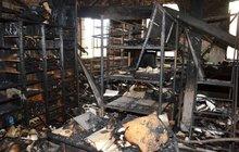 Policie zjistila: Textilku v Krnově zapálily děti!
