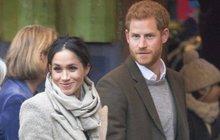 Harry a Meghan: Odtajnili podrobnosti svatebního dne!