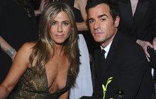 Jennifer Aniston(49) a Justin Theroux(46): ROZCHOD!