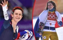 OLYMPIJSKÁ FANTAZIE: Stříbrná Sáblíková a bronzová Samková