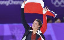 Další bronz! Karolína Erbanová (25) vyhrála na trati 500 metrů bronzovou medaili. Pětadvacetiletá rychlobruslařka tak pro Česko získala v pořadí třetí bronz, celkově šestý cenný kov na ZOH v Pchjongčchangu.