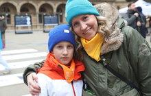 Den dětské onkologie v Praze: Jenda (8) začal boj s rakovinou už ve dvou měsících