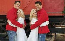 Až nadejde jejich velký den, Brittany a Briana Deanovy (obě 31) budou muset oddávajícího ujistit, že nevidí dvojmo. Jsou to totiž identická dvojčata a brát si budou Joshe a Jeremyho Salyersovi (oba 34), kteří jsou... Identická dvojčata!