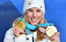 Ester Ledecká (22) má druhé zlato a je...NESMRTELNÁ!