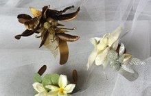 Vytvořte si náramek s nádechem jara - květinový...