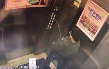 Ňouma močil ve výtahu: Způsobil zkrat a uvízl v něm!