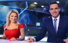 Překvapení pro Perkausovou po premiéře ve Zprávách na TV Prima: Tajný milenec jí poslal růže!
