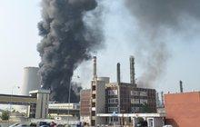 Výbuch a požár v Unipetrolu: Zaměstnanci způsobili  škodu 13,4 miliardy…firma je brání