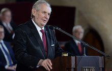 Zeman načal další pětiletku: Projev plný útoků