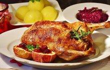 Velikonoční recepty: Velikonoční plněná kachna