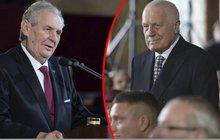 Miloš Zeman je oficiálně podruhé prezidentem: Tvrdá »Klausova« kritika