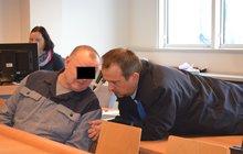Obžalovaný Jaroslav K. (54): Napřáhl jsem ruku, spadla na něj stěna
