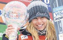 Ani nemusela na prkno. Ester Ledecká (22) šetří bolavá záda. Na poslední podnik Světového poháru si tak přijela jenom pro svou cenu, velký křišťálový glóbus.