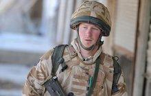 Princ Harry: V Afghánistánu 15 cm od smrti!
